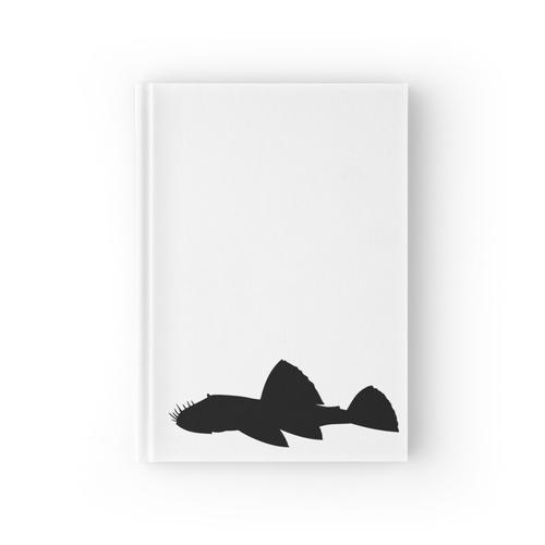 der freundliche Aquarienbodenbewohner! Notizbuch