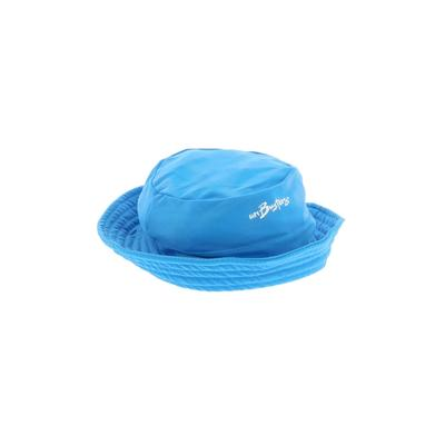 Sun Busters Hat: Blue Solid Acce...