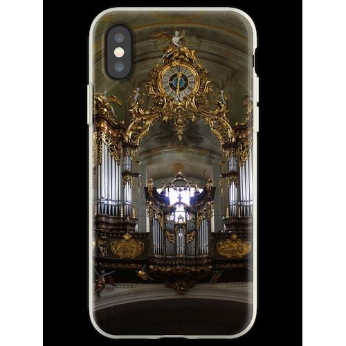 Pfeifenorgel Mariahilfer Kirche, Wien Österreich Flexible Hülle für iPhone XS