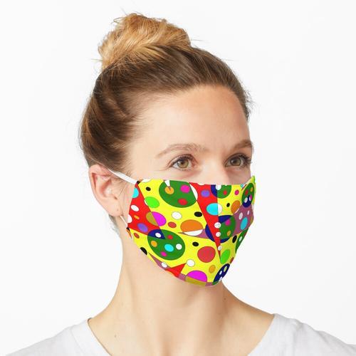 Abmessungen der Farbe Maske