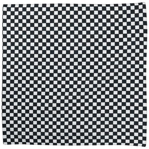 Rock Daddy Checkerboard Bandana - schwarz weiß