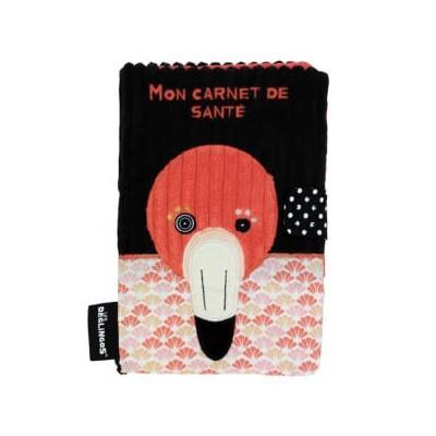 les deglingos - Flamingos the Flamingo Health Book Cover - cotton   rose - Rose