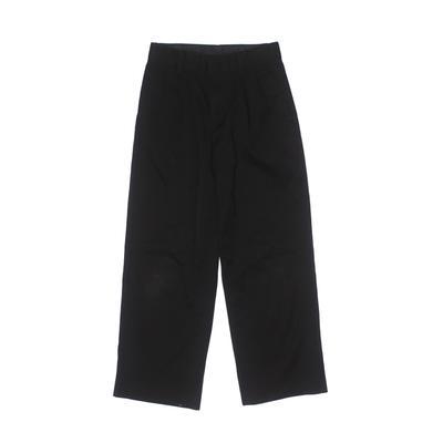 Arrow Khaki Pant: Black Solid Bottoms - Size 8