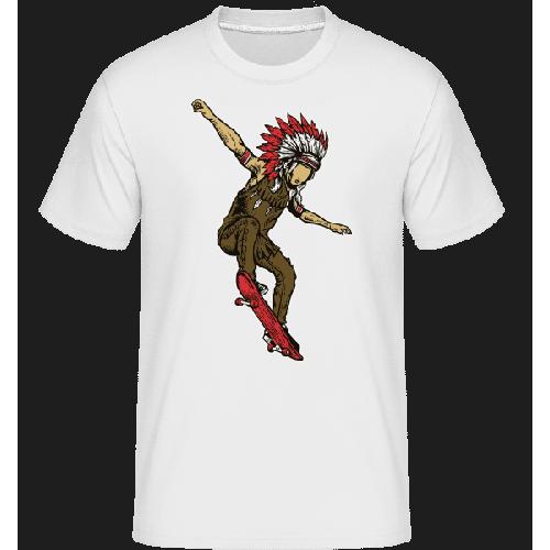 Indian Chief Skateboard - Shirtinator Männer T-Shirt