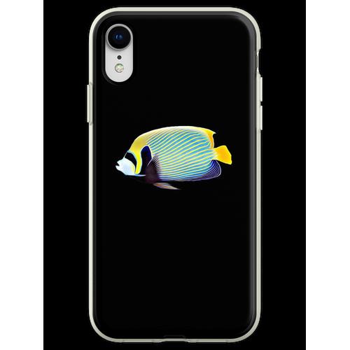 Kaiser Angelfish Saltwater Riffaquariumaquarium Flexible Hülle für iPhone XR