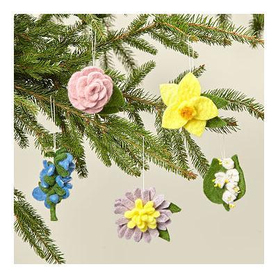 Birth Month Flower Ornament
