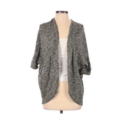 Mossimo Cardigan Sweater: Black Color Block Sweaters & Sweatshirts - Size X-Small