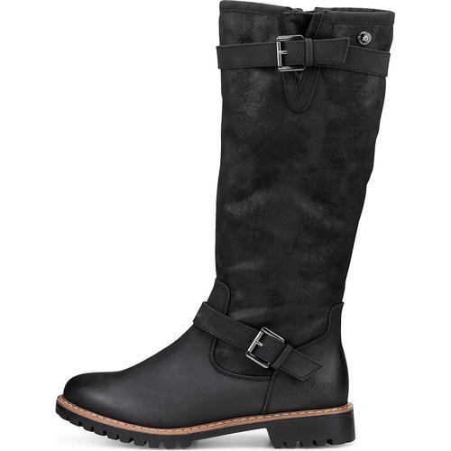 s.Oliver, Winter-Stiefel in schwarz, Stiefel für Damen Gr. 37