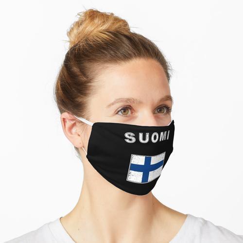 Finnland finnisch Flagge Fahne Maske