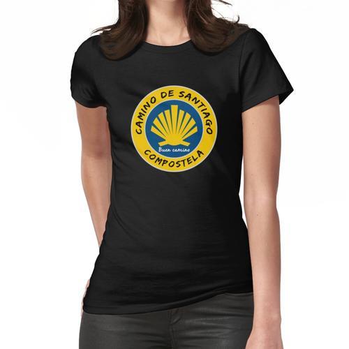Jakobsweg. Jakobsweg Frauen T-Shirt