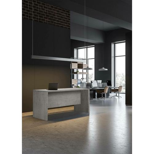 Schreibtisch Farbe Betongrau