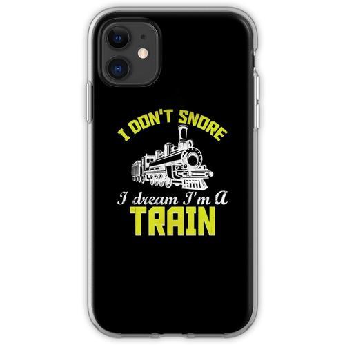 Züge Eisenbahn Lokomotive Eisenbahner Geschenk Flexible Hülle für iPhone 11