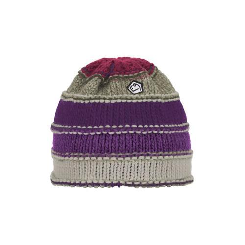 E9 - Varbis - Mütze Gr One Size lila/grau