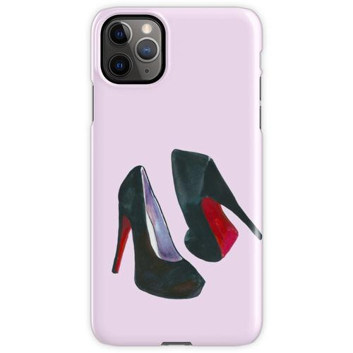 Schwarze Damenschuhe iPhone 11 Pro Max Handyhülle