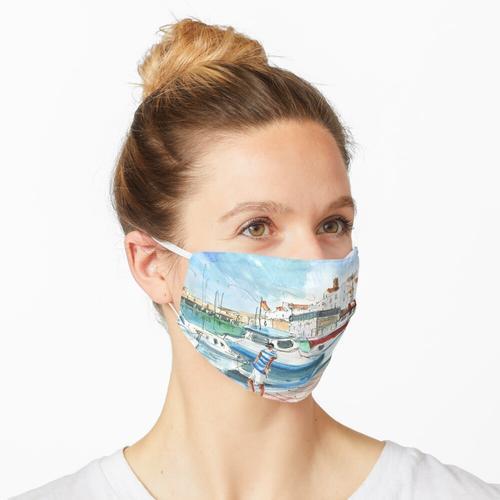 Peniscola Hafen 01 Maske