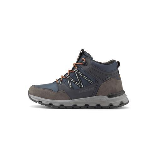 TOM TAILOR Herren Gefütterte Trekking Sneaker, blau, Gr.45