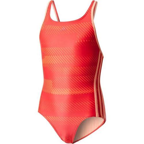 ADIDAS Mädchen Badeanzug OCC Swim, Größe 164 in REDNIT/SUNGLO