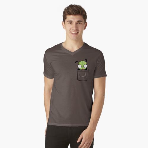 Taschenersatzteile t-shirt:vneck