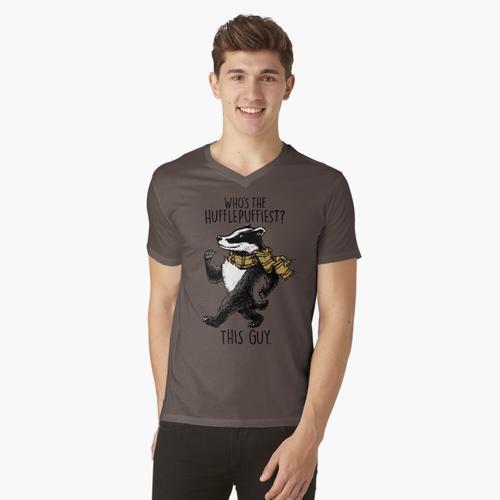 Der Hufflepuffiest t-shirt:vneck