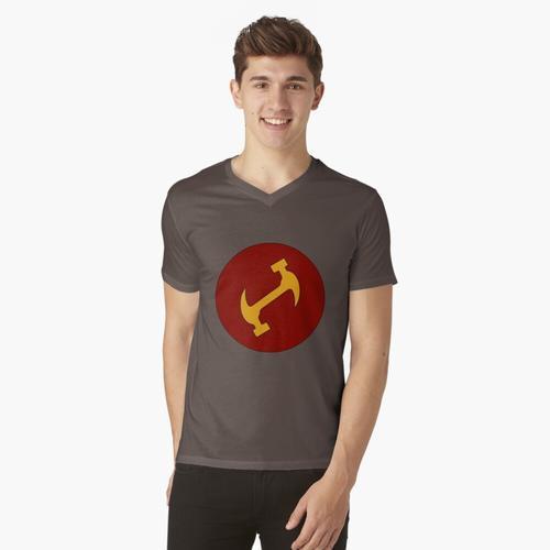 Die Steinmetze t-shirt:vneck