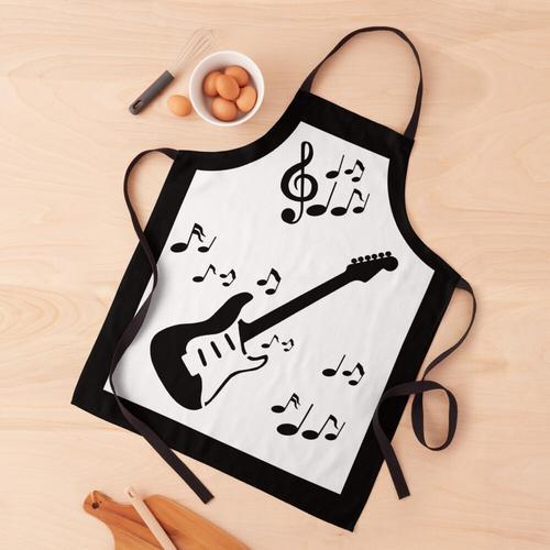 Rhythmusgitarre Schürze