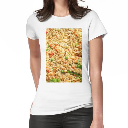 Gebratener Reis mit Huhn Frauen T-Shirt