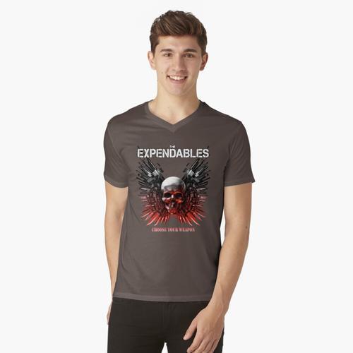 Der Expendables-Film t-shirt:vneck