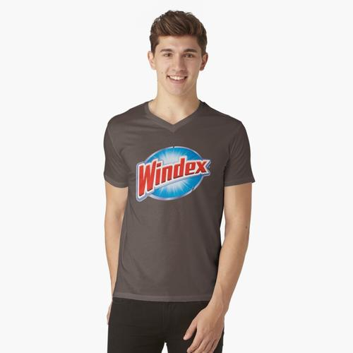 Windex-Logo t-shirt:vneck