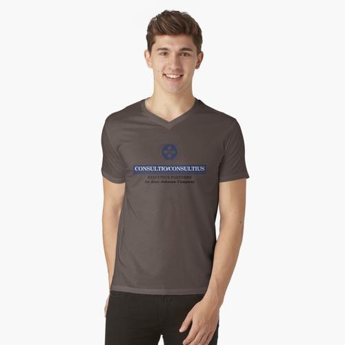 Beratung / Beratung t-shirt:vneck
