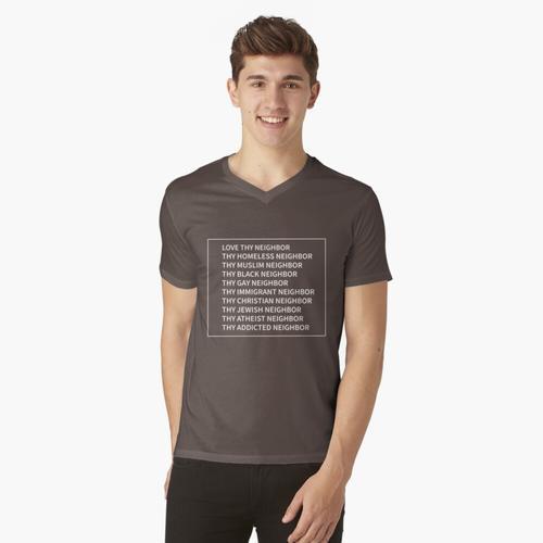 Synagoge t-shirt:vneck