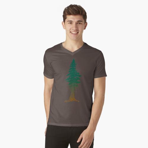 Mammutbaum t-shirt:vneck