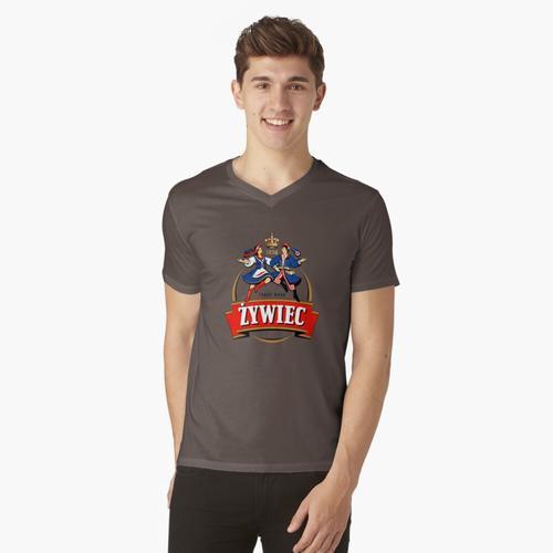 Zywiec t-shirt:vneck