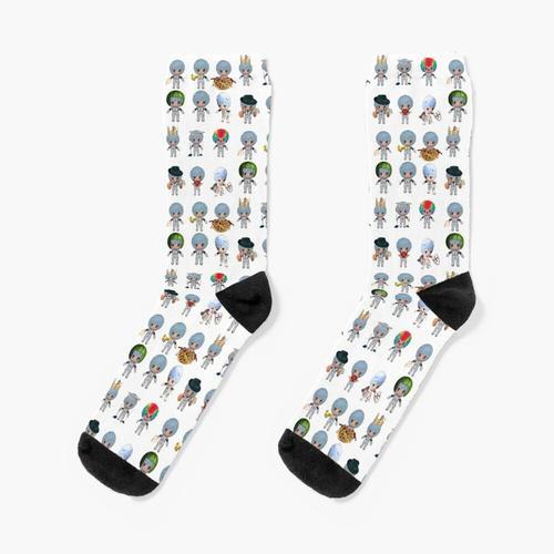 Kleine Rei Socken