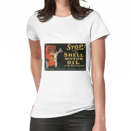 Shell Motoröl Frauen T-Shirt