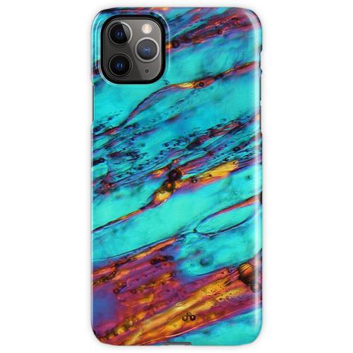 Eiskristalle unter dem Mikroskop iPhone 11 Pro Max Handyhülle