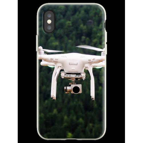 Fliegende Drohne Flexible Hülle für iPhone XS