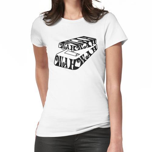 Wah Wah Gitarreneffektpedal Frauen T-Shirt