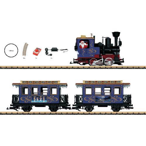 LGB Modelleisenbahn-Set Weihnachtszug - L70305, für Einsteiger bunt Kinder Ab 12-15 Jahren Altersempfehlung