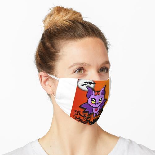 Kleine süße Fledermaus Maske