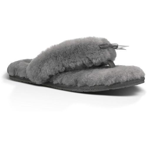 Ugg Hausschuhe Fluff Flip Flop II Sandalen für