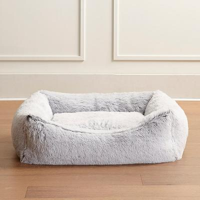 Icelandic Shag Pet Bed - Frost White, Small - Frontgate