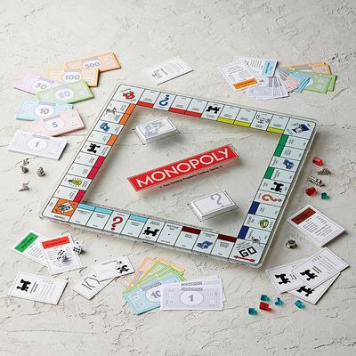 Monopoly Glass Edition Game - Fr...