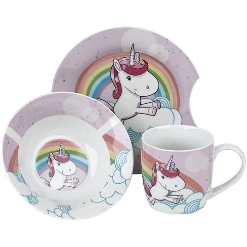 Einhorn Frühstücksset Frühstücks-Set - multicolor