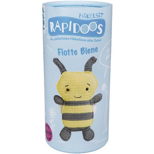 Häkelset Rapidoos - Flotte Biene, schwarz