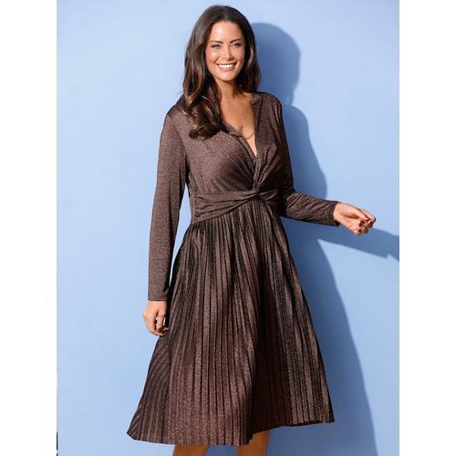 Kleid MIAMODA Bronzefarben