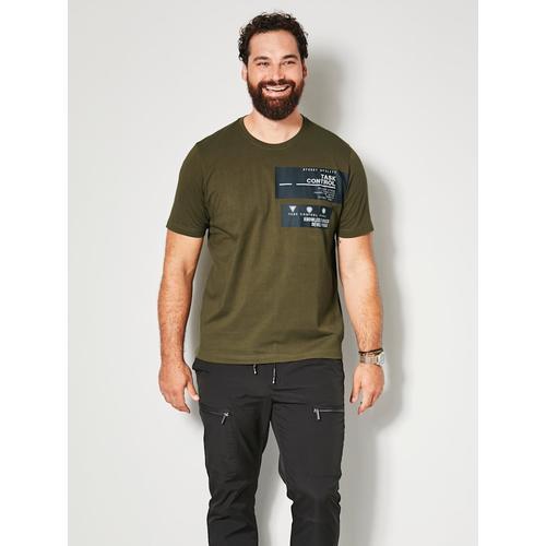 T-Shirt Men Plus Schlamm