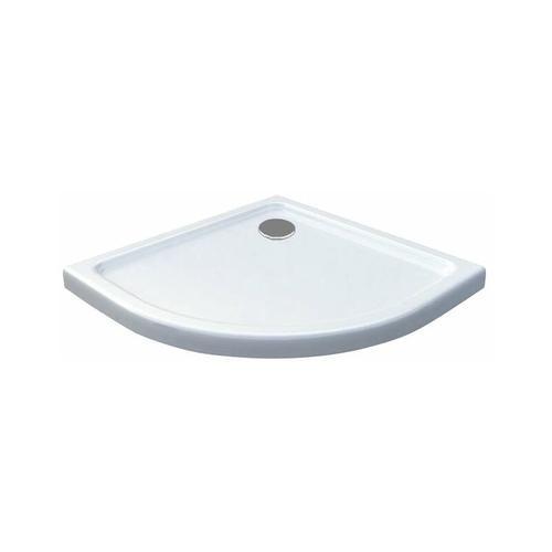 50 mm Duschtasse Viertelkreis 80 x 80 cm