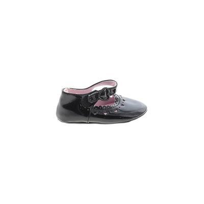 Dress Shoes: Black Solid Shoes -...