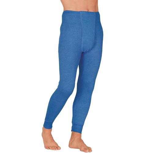 Lange Unterhose, (2 St.) blau Herren Unterhose Strings Unterhosen Herrenwäsche
