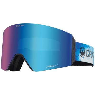 Dragon Alliance RVX OTG Snow Goggles PERMAFROST/BLUE ION